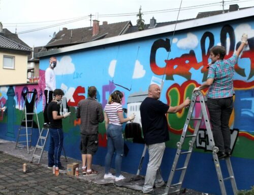 Jugend-Graffiti Projekt Unkel