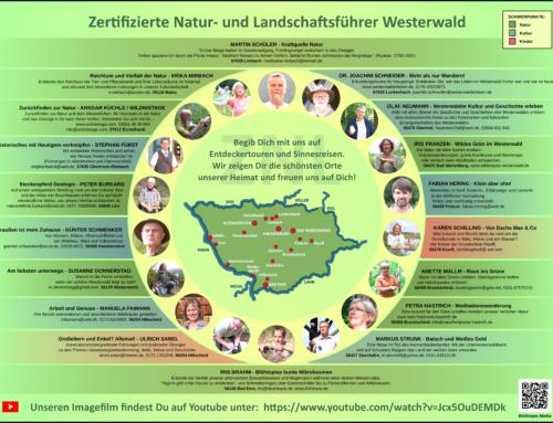 """Modularer Lehrgang zur Gästeführerausbildung """"Zertifizierte Natur- und Landschaftsführer Rheinland-Pfalz e.V"""""""