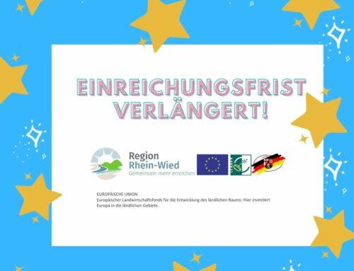 Einreichungsfrist für Bürgerprojekte in LAG Rhein-Wied verlängert!