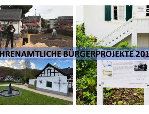 Ehrenamtliche Bürgerprojekte 2017!