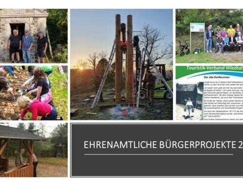Ehrenamtliche Bürgerprojekte 2019