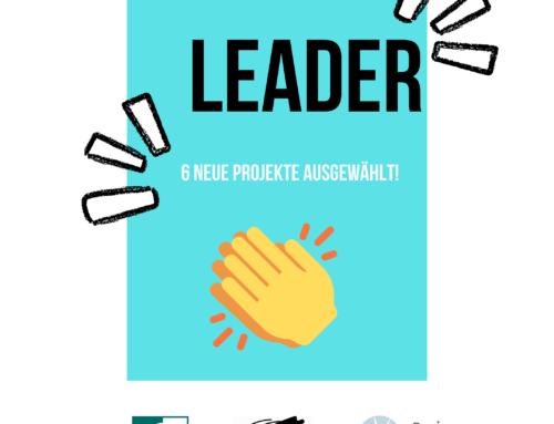 Sechs neue LEADER-Projekte grünes Licht gegeben 💡✅